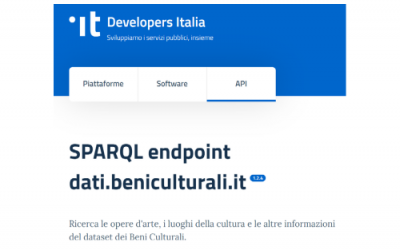 I linked open data dell'ICCD su Developers Italia